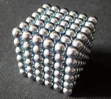 Free Shipping 10sets/lot 3MM Silver 216 NEOCUBE MAGNETIC NEO NEODYMIUM CUBE MAGNET BALLS(China (Mainland))