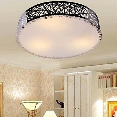 Forest Design Modern LED Ceiling Light Lamp for Living Room Bedroom Home Lighting Round Shape Mini Style Ceiling Lights(China (Mainland))