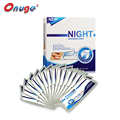 1 Box Onuge Advanced 40 Dry Teeth Whitening Night Strips Dry Whitening Strips Sleeping Use Teeth