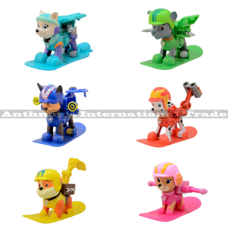 2016 6Pcs/Lot Patrulla Canina Juguetes Russian Kids Puppy Patrol Dog Set Toys Action Figures Model Toy Patrulha Pata Brinquedos<br><br>Aliexpress