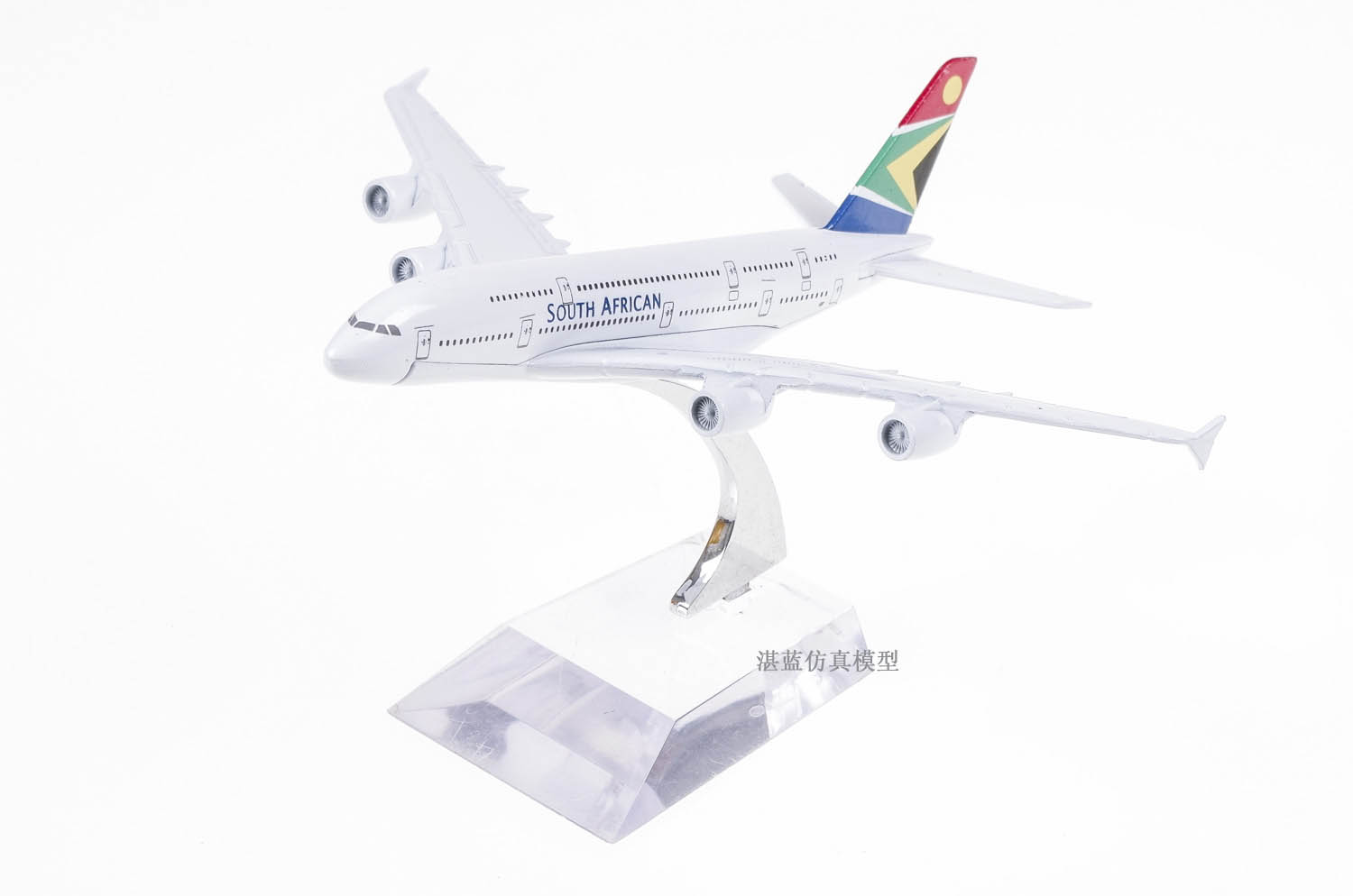 Brand New 1/500 Scale Airplane Model Toys South African Airways Airbus A380 Airliner Diecast Metal Plane Model Toy For Gift(China (Mainland))