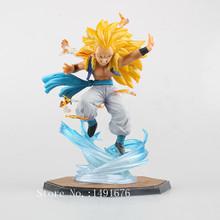 Dragon Ball Z Action Figures Gotenks Figuarts ZERO Super Saiyan 3 PVC 16cm Anime Dragonball Z Figures DBZ Esferas Del Dragon Toy