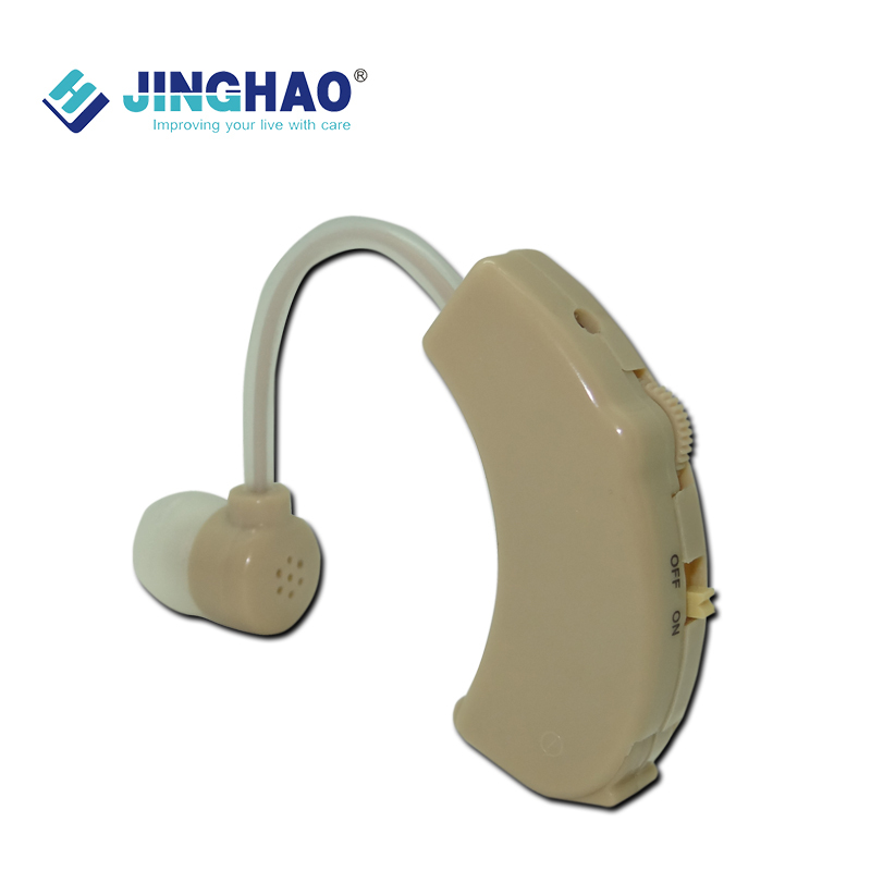 Best Ear Hearing Amplifier BTE with CE Low Price Low Noise Harmonic Wave Distortion 6 Volume Adjustable Sound Amplifier JH-138(China (Mainland))