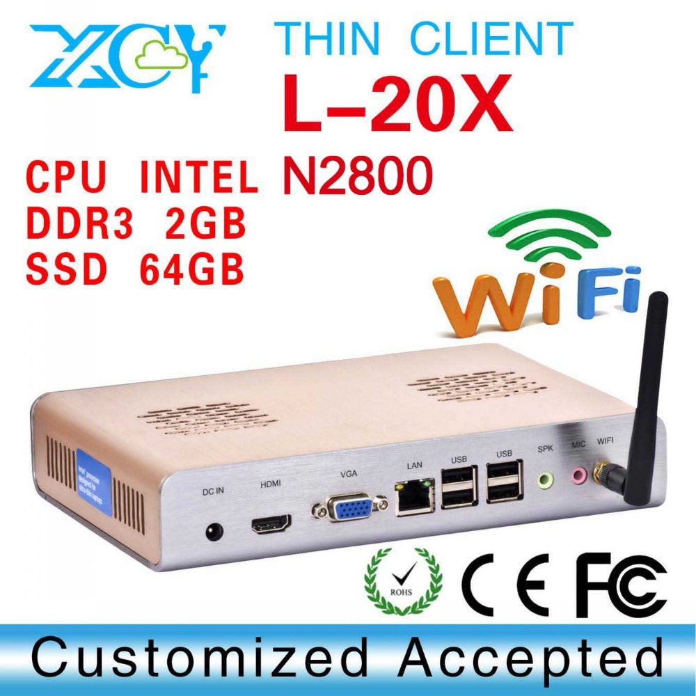 XCY L-20X New arrival!! promotional price x86 mini htpc thin computing serial port need optional $4 high-performance(China (Mainland))