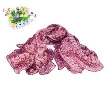 2015 New Fashion Snakeskin scarf design plaid Silk Shawl Chiffon wrap Iady luxury cottoashion men Women burb foulard Scarf(China (Mainland))