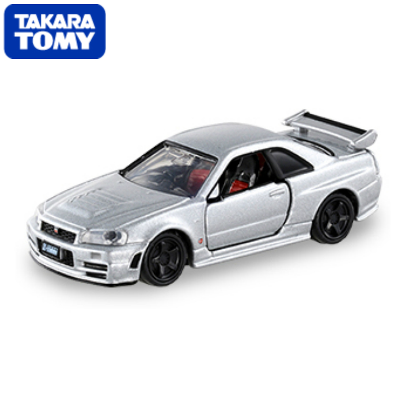 Limited Tomica Black Box NO.01 PREMIUM 01 R34 GT-R Z-TUNE 1/62 Cars Matchbox (Silver Mica Metalic) Diecasts Vehicle(China (Mainland))