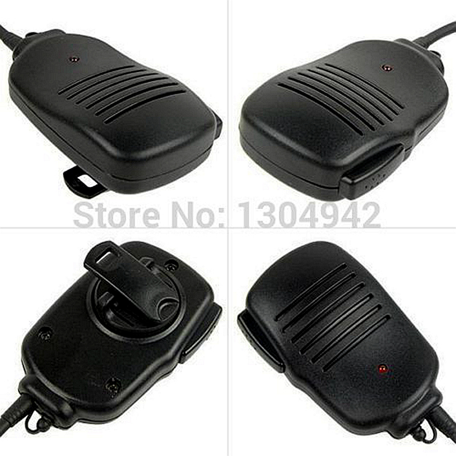 New Baofeng Speaker Mic Microphone for BAOFENG UV-5R 5RA/B/C/D/E UV-3R+ kenwood Walkie Talkie with free shipping(China (Mainland))