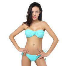 Wholesale bandeau bikini neon
