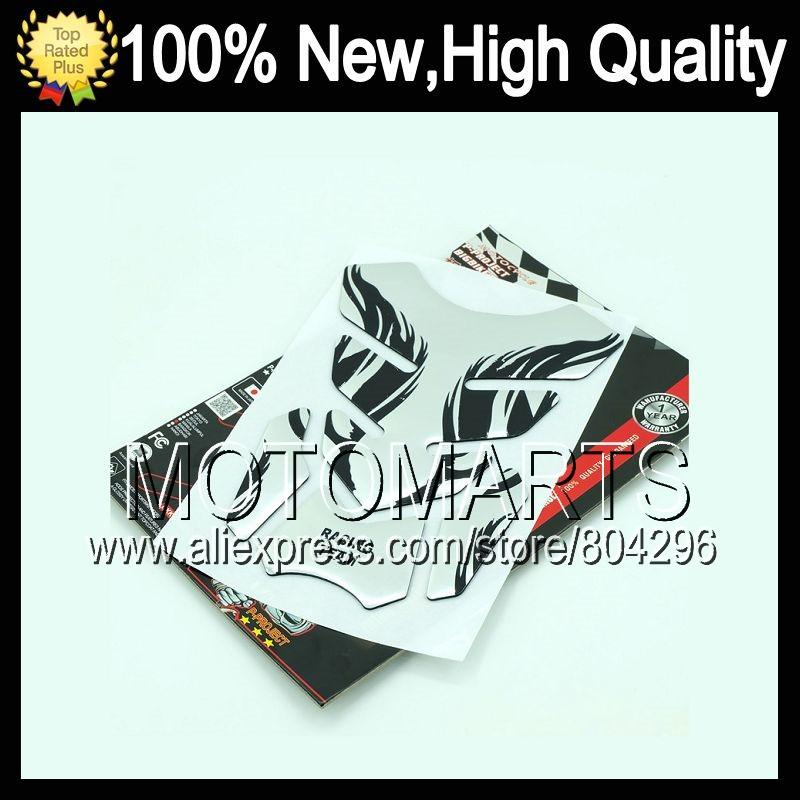 3D Rubber Gas Tank Pad HONDA GL1800 Goldwing 01-10 GL 1800 GL-1800 2001 2002 2003 2004 2005 2006 4D!0 sticker decals  -  Motomarts store