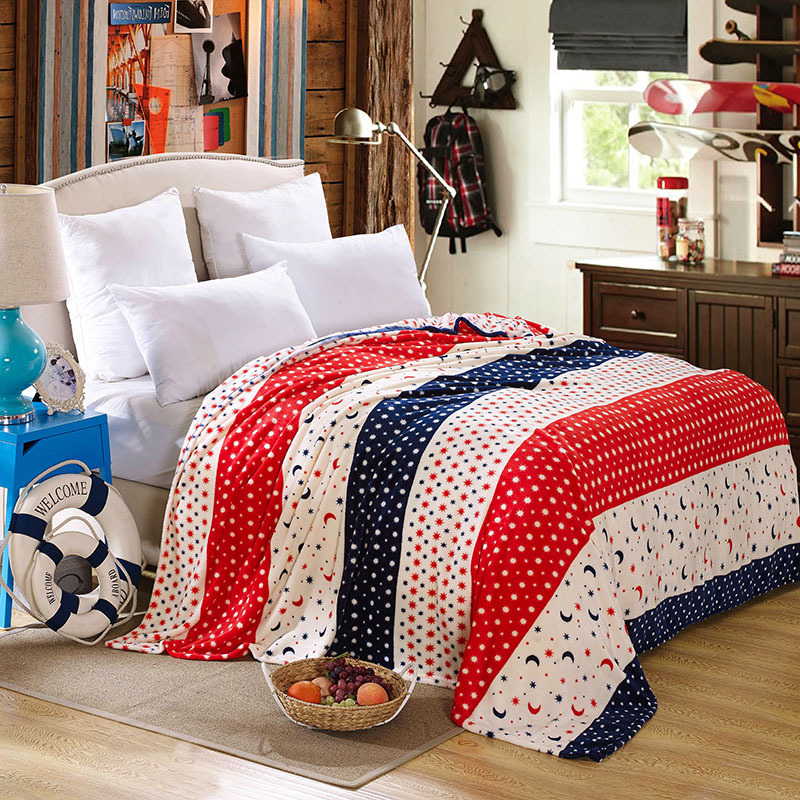 2015 news Pacific Textile blanket per square 200g coral fleece fabric big kid beds(China (Mainland))