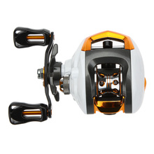 12+1 Ball Bearings Right/Left Hand Baitcasting Fishing Reel Fly High Speed Fishing Reel with Magnetic Brake System(China (Mainland))