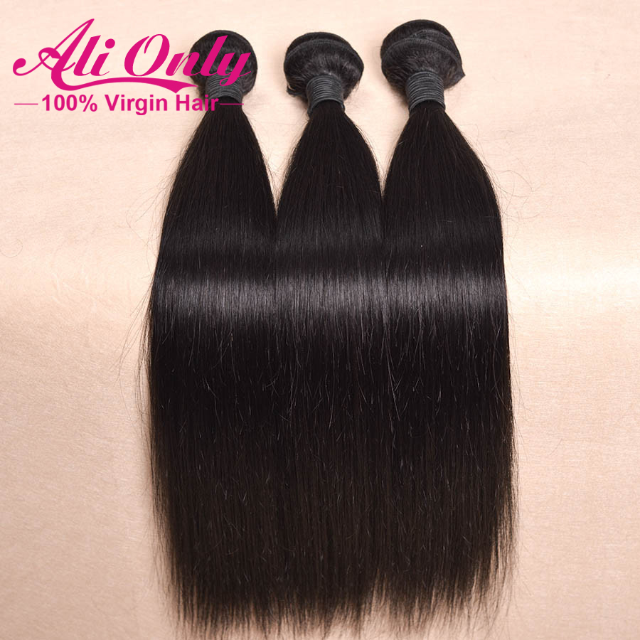 Rosa hair products cambodian virgin hair 100%human hair weave cambodian straight virgin hair  8 inch~ 30inch Color 1b #1 #2 #4