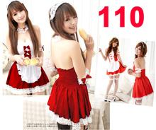 Hot Sexy lingerie babydoll flower lace Night dress underwear Teddy Nightdress nightwear party Cosplay Maid #110