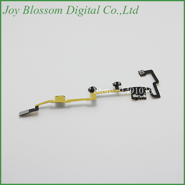 Free Shipping Power On Off Switch Mute Volume Button Flex Cable for Apple iPad 2 Parts(China (Mainland))