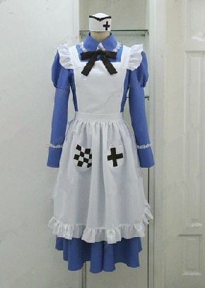Cosplay APH Hetalia England Rose cosplay dress Costume Made - sasagi66644 store