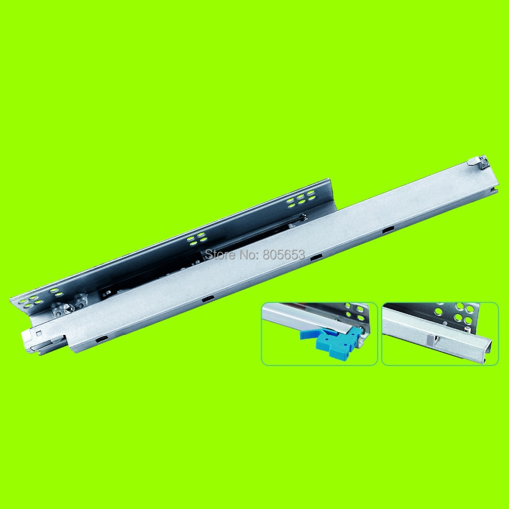 wholesale silent soft closing undermount drawer slide 20 inch (US2111-20)(China (Mainland))