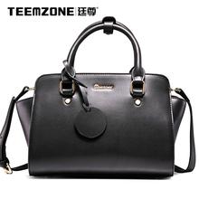 Teemzone – New 2016 Genuine Leather Women Bag Handbags & Crossbody Bags Handtassen Ladies Totes with Single Shoulder Belt J25