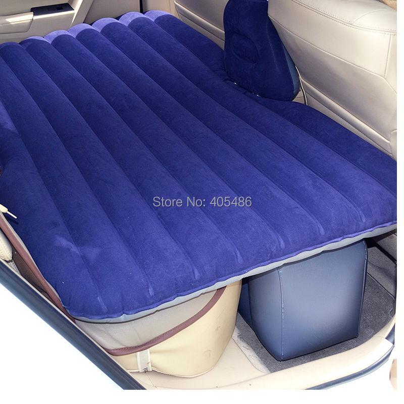 2v pump inflatable mattress car back seat cover air