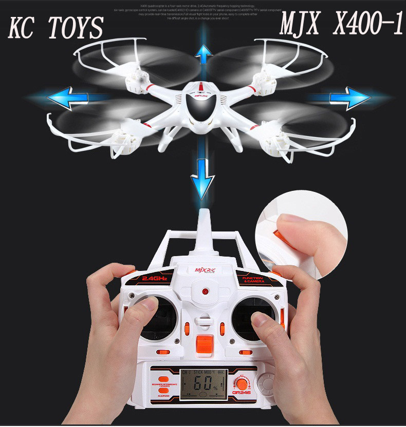 MJX X400/X400-1 RC helicopter drones quadcopter 2....