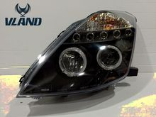 Buy Free 2003-2005 Nissans 350 Z auto headlight LED headlamp angel eyes Best H7 D2H xenon lamp for $500.00 in AliExpress store