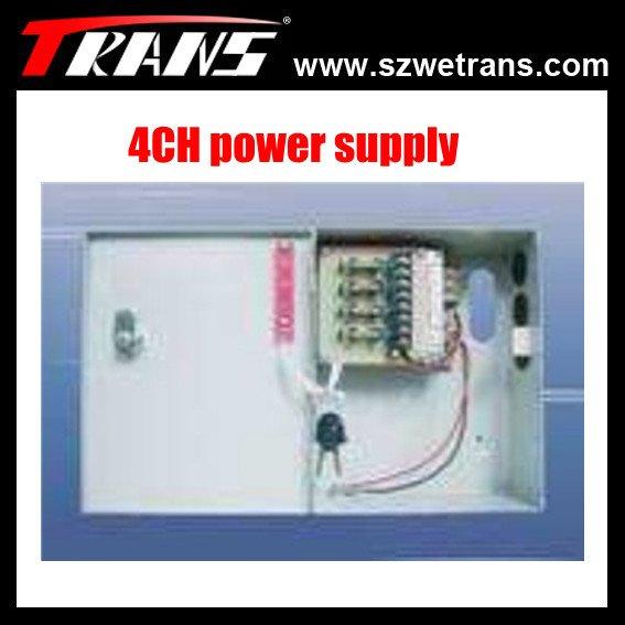 Hot sale 4CH CCTV Power supply