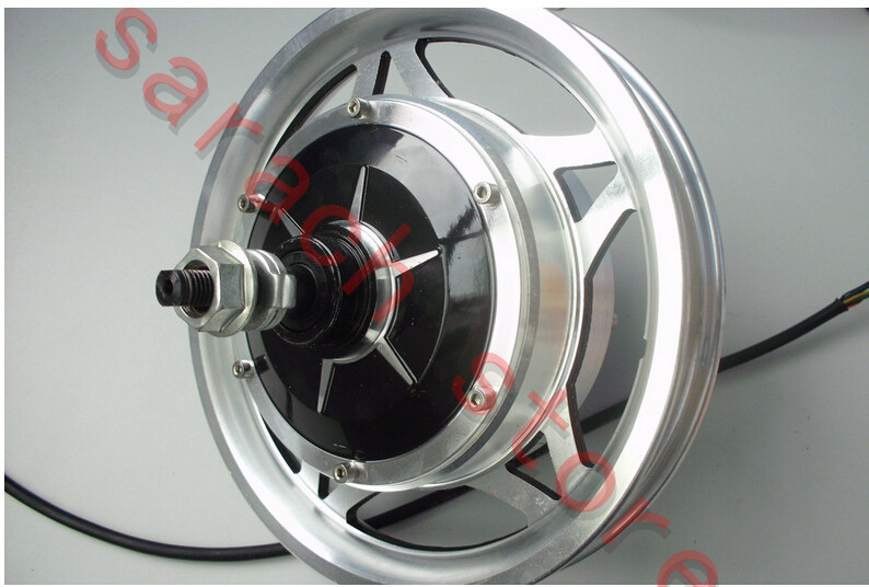 12 350w 48v whole aluminum wheel hub motor electric for Fastest electric bike hub motor