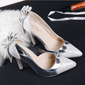 Fashion Thin High Heels Women Pumps Sexy Rhinestone Pointed Toe Party Shoes New Arrival Women Pump