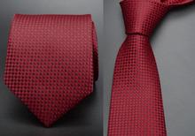 Formal business wedding Classic men tie stripe plaid grid  8cm Fashion Accessories men necktie A16(China (Mainland))