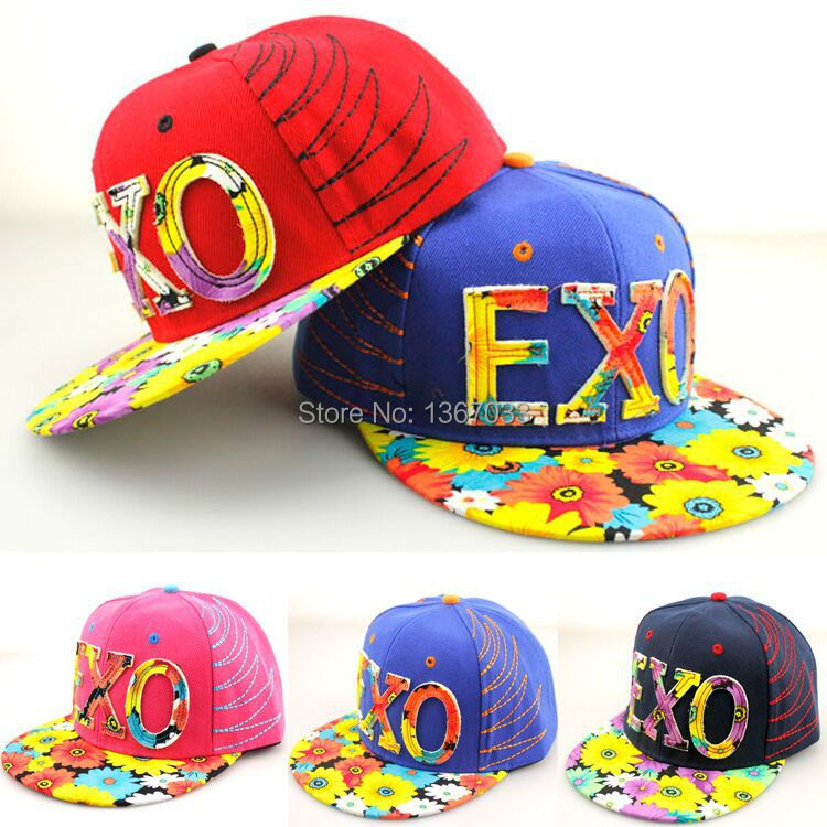 2015 New Adjustable EXO Caps Hip Hop Sport Snapback Caps Baseball Snap Back Caps Basketball Hats