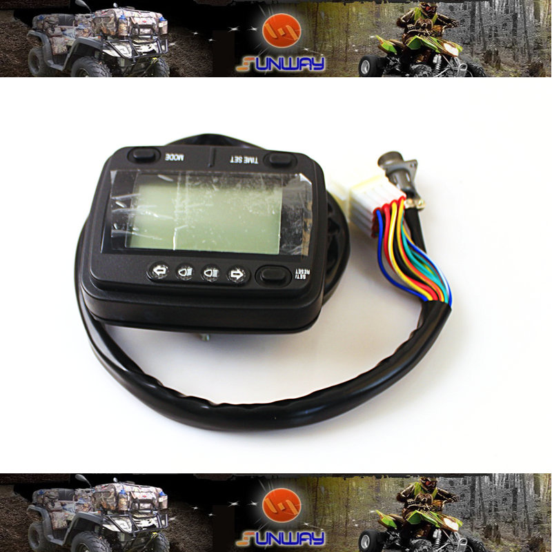 Motorcycle Instrument for HISUN 400 500 600 700CC ATVs Quad Bike Parts Free Shipping<br><br>Aliexpress