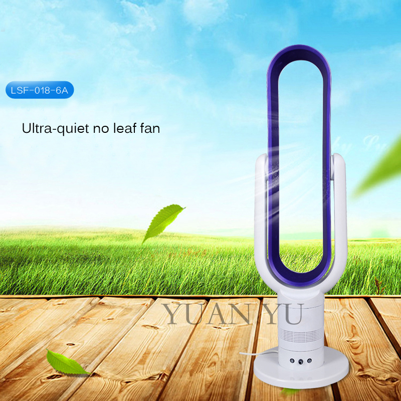 Hot Sale Office Household Mini Bladeless Fan Electric Stepless Speed Change No Blade Ventilator Cooling Air Condition Companion(China (Mainland))