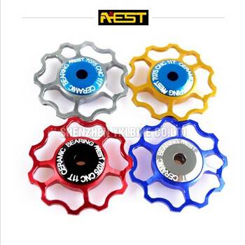 AEST new unique bicycle jockey wheels/bike ceramic pulley/lot - high end parts seller store