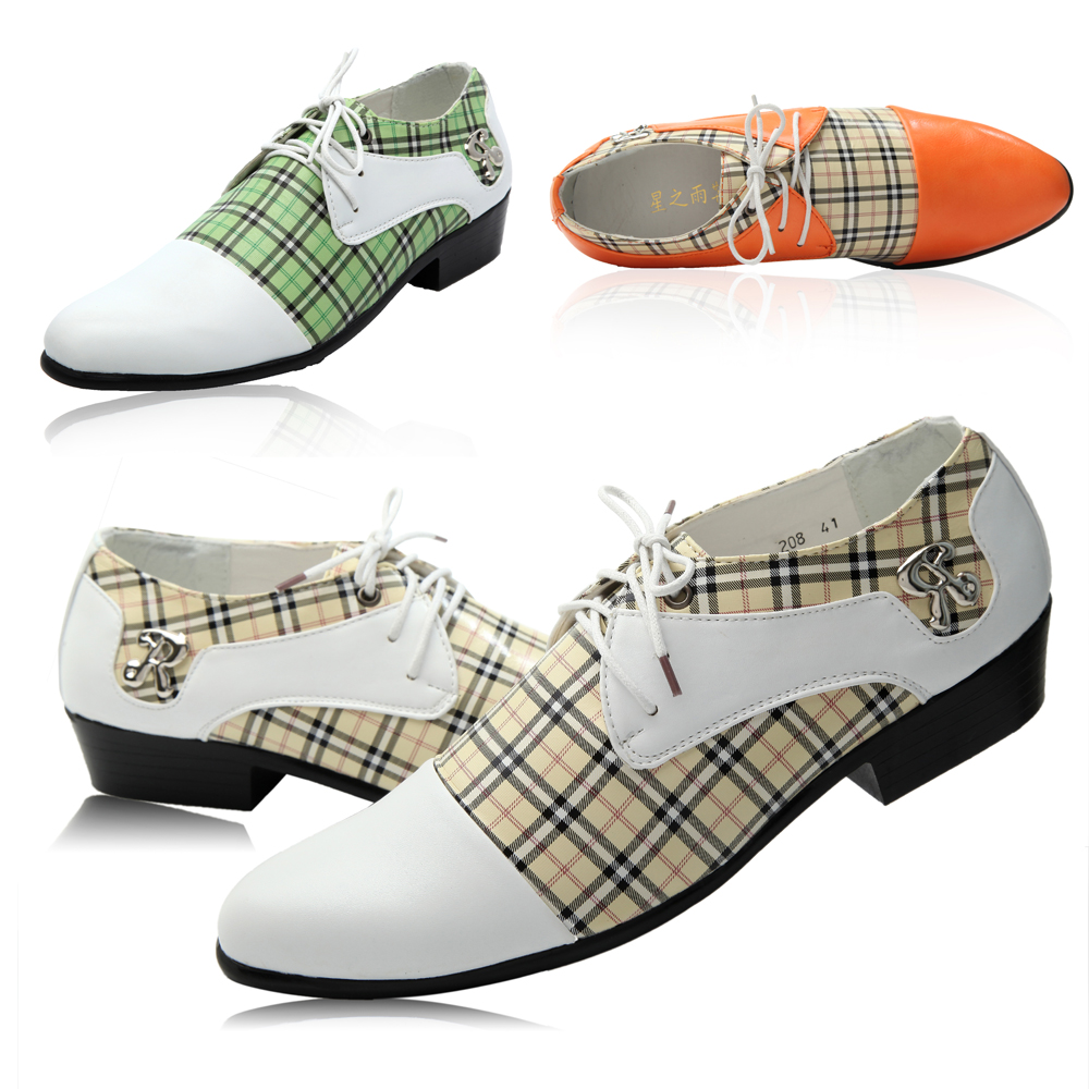 2015 Low Price latest 3 Colors Men's Loafers wedding shoes Party shoes Dress Shoes Business Shoes with box size:40-44(China (Mainland))