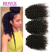 New Arrival 6A Short Kinky Curly Virgin Hair Weaving 3 Bundles Deal Peruvian Kinky Curly Virgin Hair Sale Short Styles Hair