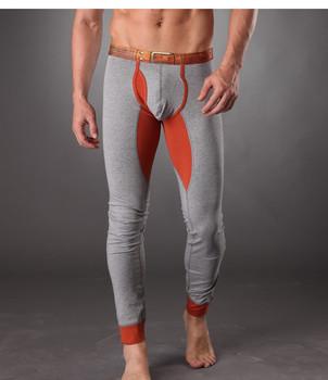 2015 новых людей хлопка тела лонг джон брюки высокое качество тепловой кальсоны теплые кальсоны для мужчин CUA11 осень мода длинный джон