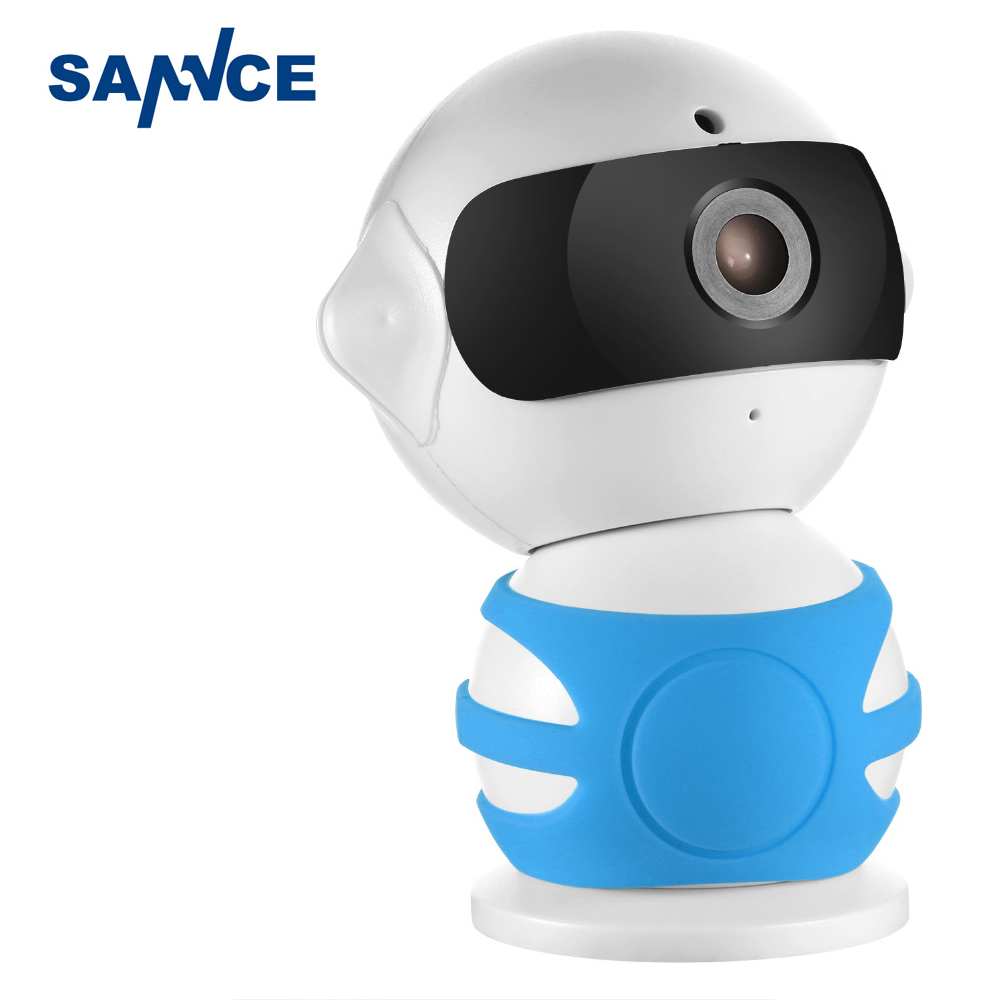 SANNCE Robot IP Camera 960P WiFi Wireless IP Camera CCTV Security Camera Two Way Audio Baby Monitor Easy QR CODE Scan Connect(China (Mainland))