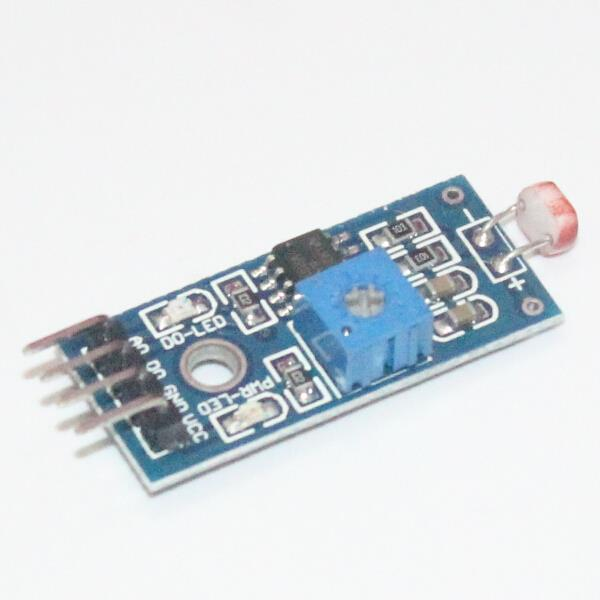 Smart Electronics LM393 Optical Sensitive Resistance Light Detection Photosensitive Sensor Module for Arduino 4pin DIY Kit(China (Mainland))