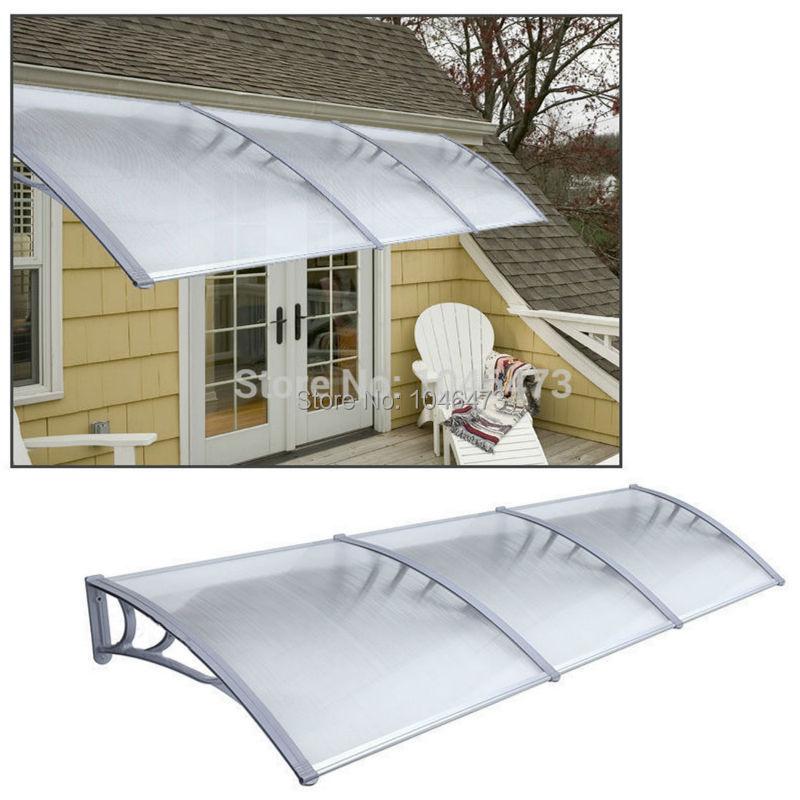 UK ZYP 3M 1m x 3m Garden Patio Door Canopy Cover Front and ...
