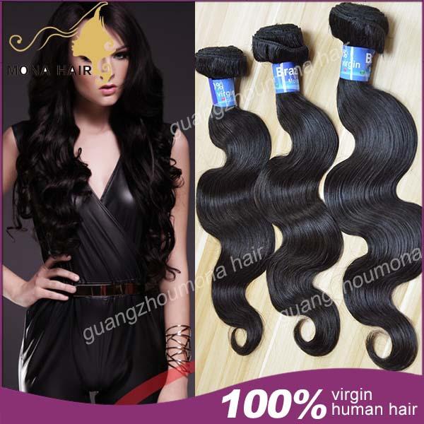 "7A Brazilian Virgin Hair Top Grade Queen Hair Brazilian Body Wave 3Pcs100% Brazilian Hair Weave Bundles 10""-30"" Free Shipping(China (Mainland))"