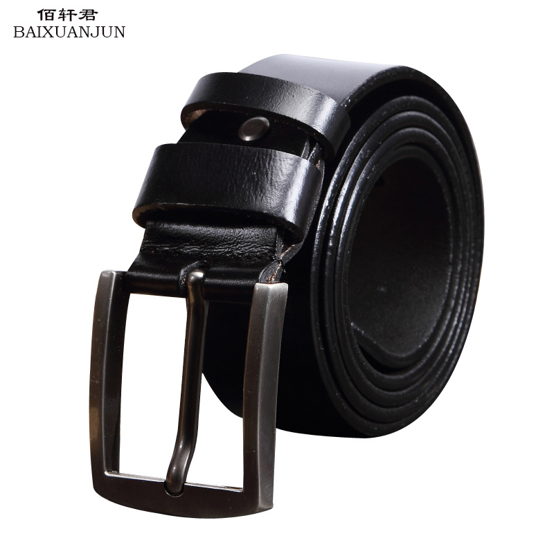 [ZHUAINV] 2016 new high quality men's 100% pure leather belt leather belt Buckle Belt brand retro casual leather belt(China (Mainland))