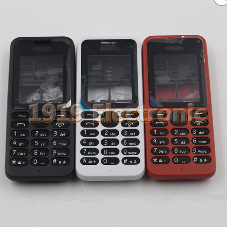 New Full Complete Mobile Phone Housing Cover Case+Enlish Keypad For Nokia 130 DS RM-1035 RM-1122+Tools+Tracking(China (Mainland))