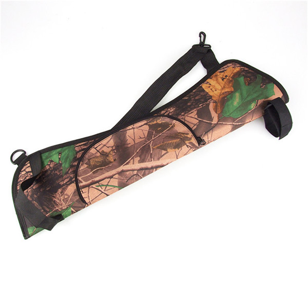 Brand New New Arrival Camo Archery Hunting Bow ARROW BACK SIDE QUIVER Holder Bag Zipper