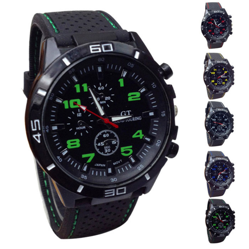 Free Shipping 2015 new Casual Quartz watch men Women military Watches sport Wristwatch Dropship Silicone Clock