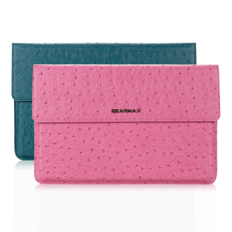 2015 New Arrival Low Price 14 15 Laptop Bag Case Two Colors Pink Green Computer Bag Sleeve For Macbook 15.4 Case Notebook 11 13<br><br>Aliexpress