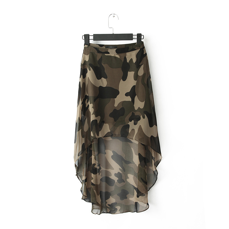 s 2014 summer slim personalized low high camouflage