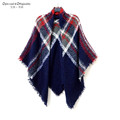 Fashion Brand Winter Scarf Women Designer Design Cashmere Plus Thick Plaid The Tablecloth Type Shawls And Scarves Wholesale