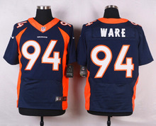Stitiched,high quality,Denver Broncos Derek Wolfe DeMarcus Ware Von Miller for mens(China (Mainland))