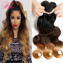 Buy rosa hair blonde 1b/4/27 Ombre Brazilian Virgin Hair Body Wave 3 Bundles Brazilian Hair Weave Bundles Ombre Human Hair Extension for $54.72 in AliExpress store