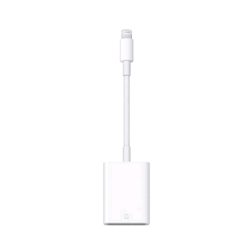 L ightning 8pin to SD Card Camera Reader adatper cable for Apple iPad Air mini Pro iPhone 6 6S 7Plus (IOS9.2 above) with package(China (Mainland))