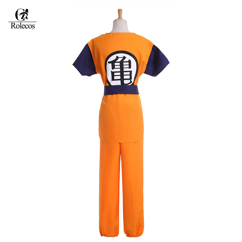 Two Style Kids Adult Dragon Ball Z Son Goku Cosplay Costume - L-email Store store